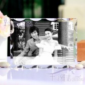 Wedding Gift 2D Lasrer Crystal